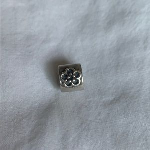 Pandora Charm with Flower Discontinued
